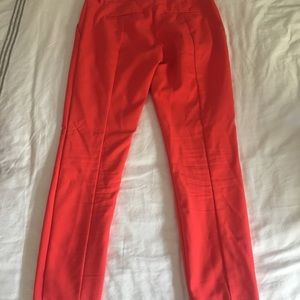 Express Ankle Columnist pants- coral